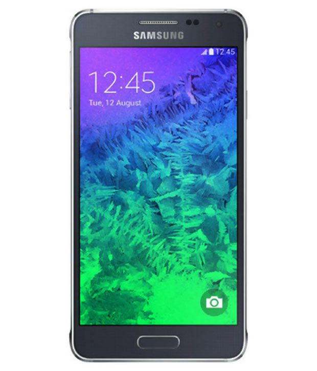 Samsung Galaxy Alpha (32GB, Charcoal Black)