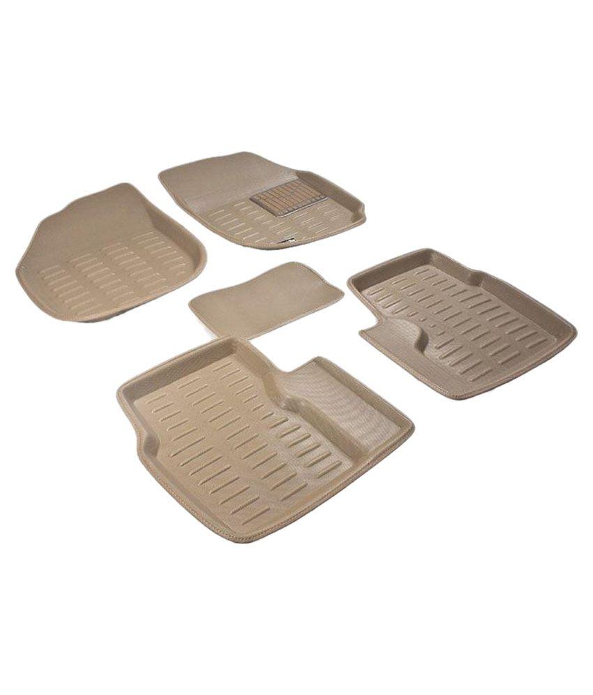 Floor mats for xuv500 - Gadget Bucket Floor Mats For Mahindra Xuv 500 Beige