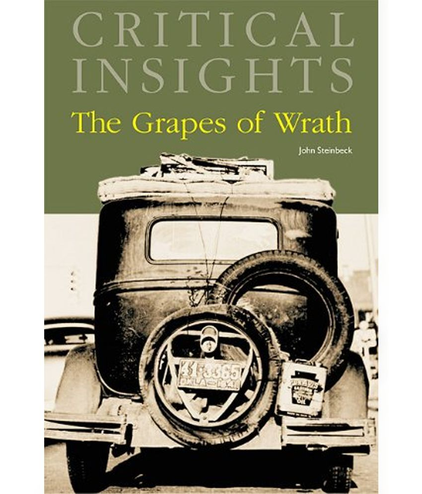 critical essay on the grapes of wrath Critics consensus: a potent drama that is as socially important today as when it was made, the grapes of wrath is affecting, moving, and deservedly considered an american classic.