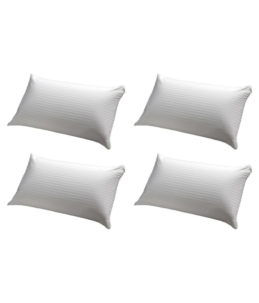 Jdx White Pillow Pack Of 4