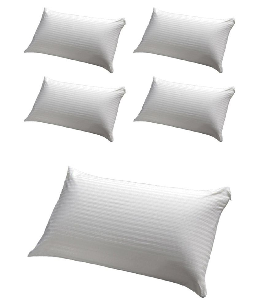 Jdx White Pillow Pack Of 5