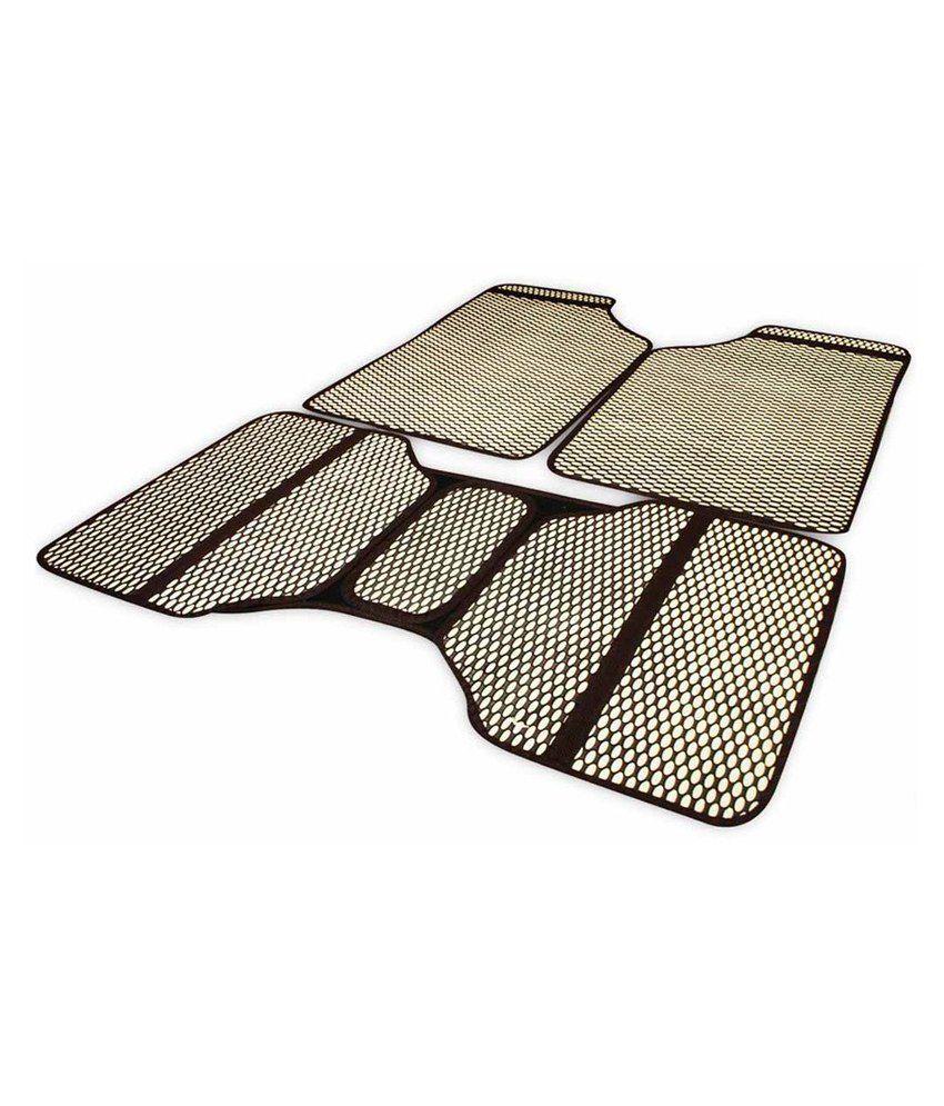 Floor mats for xuv500 - Takecare Beige Rubber Floor Mat For Mahindra Xuv500 Set Of 5