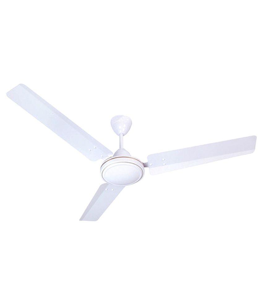 Elegant 48 Inches Aluminiumwhite Ceiling Fan White Price