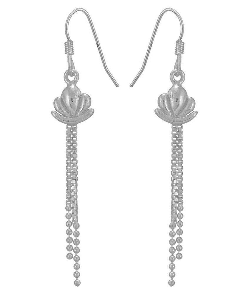 925 Silver 92.5 Sterling Silver Danglers Earrings