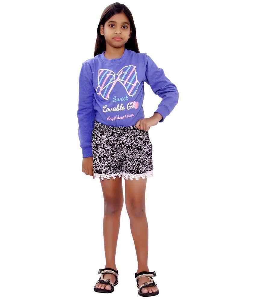 SML Originals Black and White Shorts