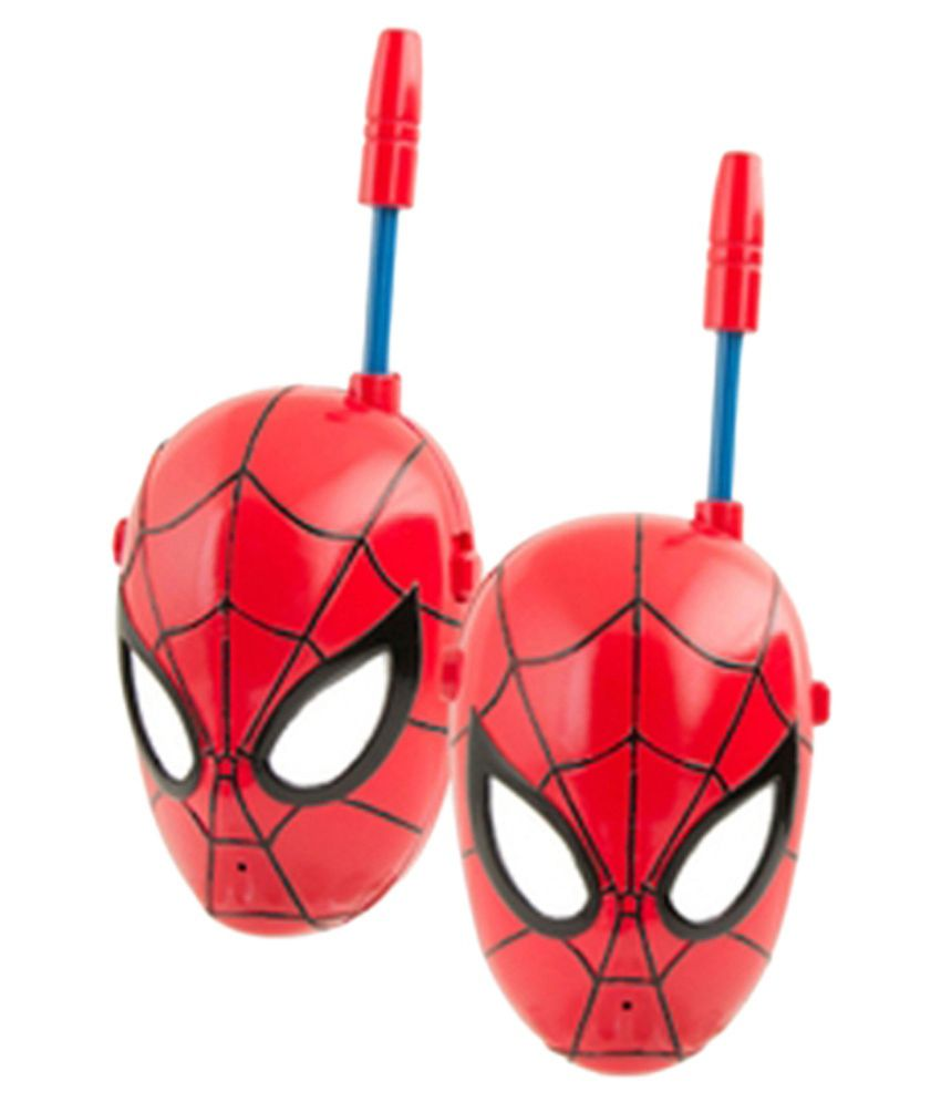 Rana Traders Rana Traders Red Spiderman Walkie Talkie