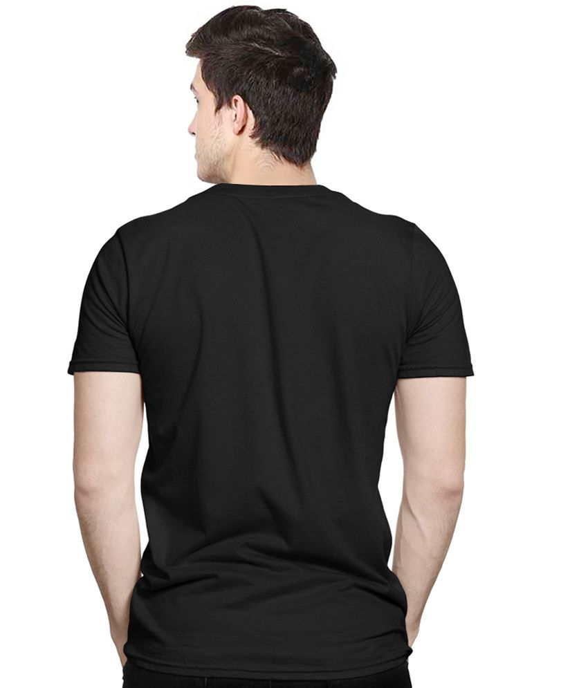 Stratton Stoffa Black Cotton T Shirt