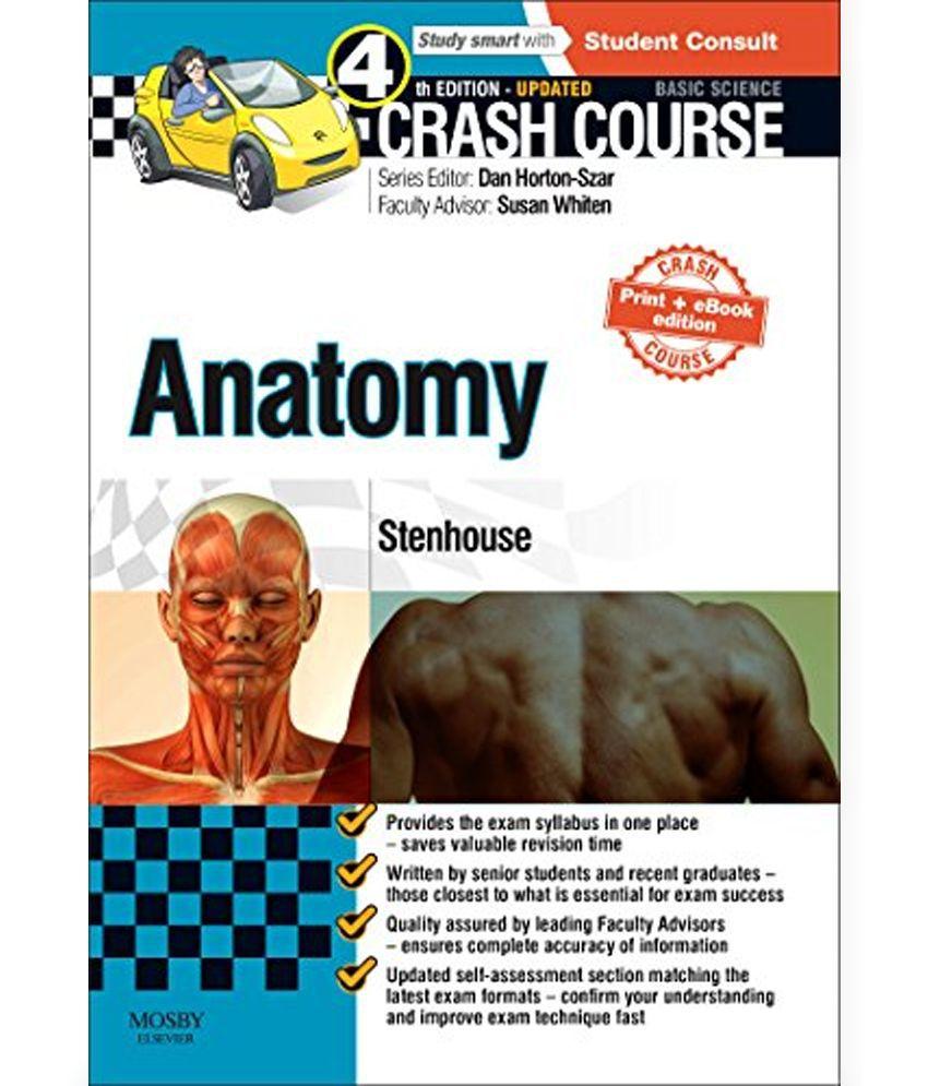 Crash Course Anatomy Updated Print + eBook Edition: Buy ...