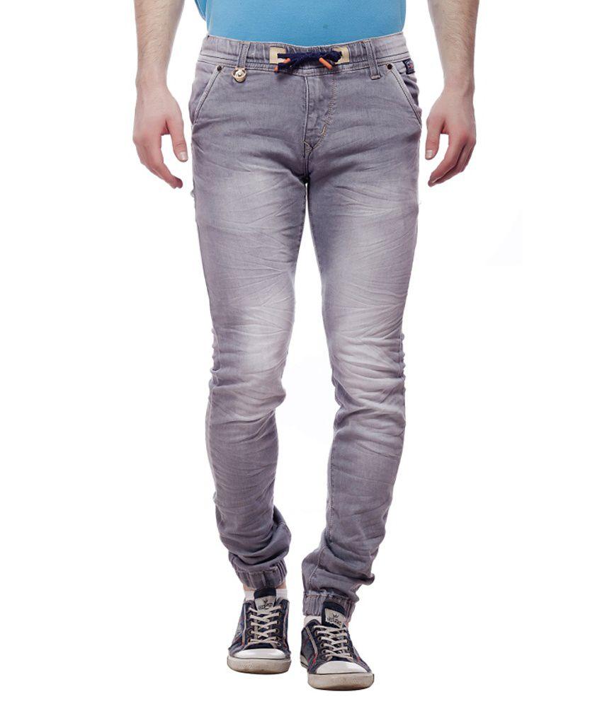 Jimmy And Jordan Grey Slim Fit Jeans