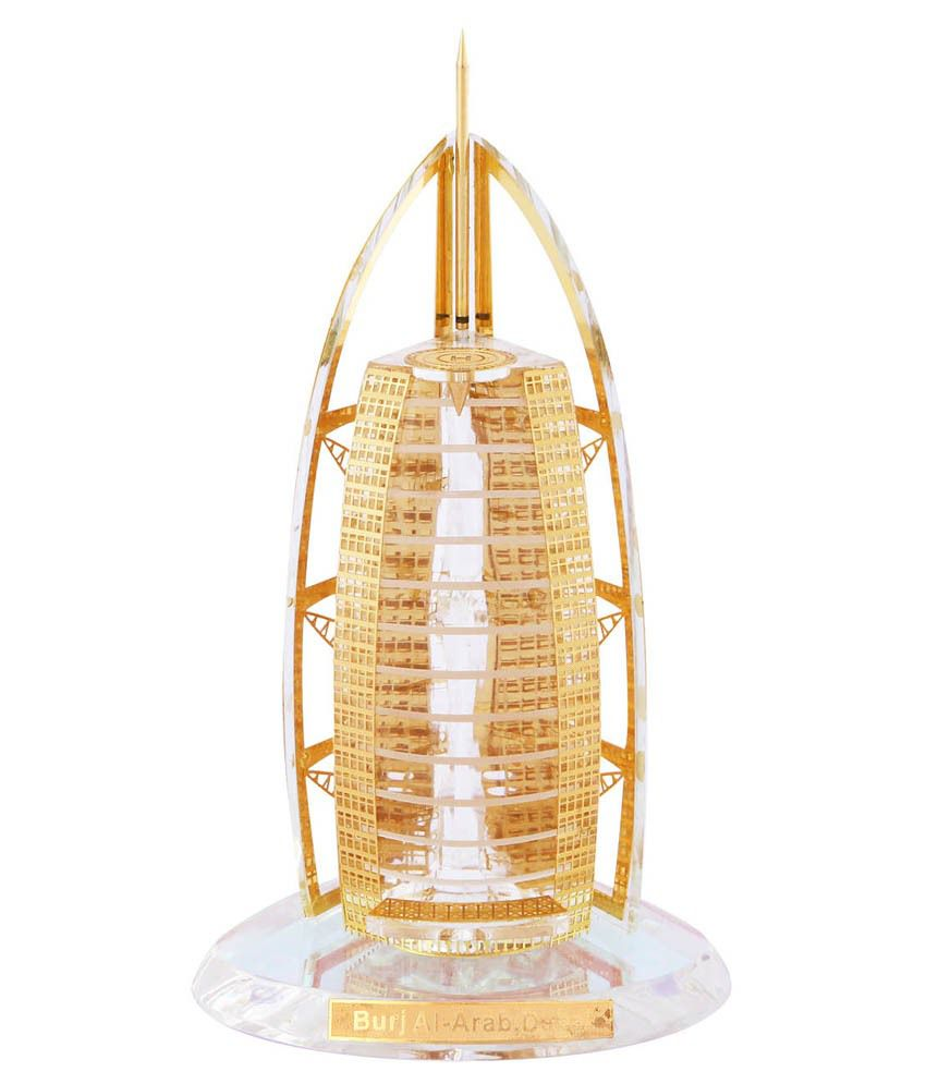 Creative Crafts Gold Crystal Sculptures - Pack of 1