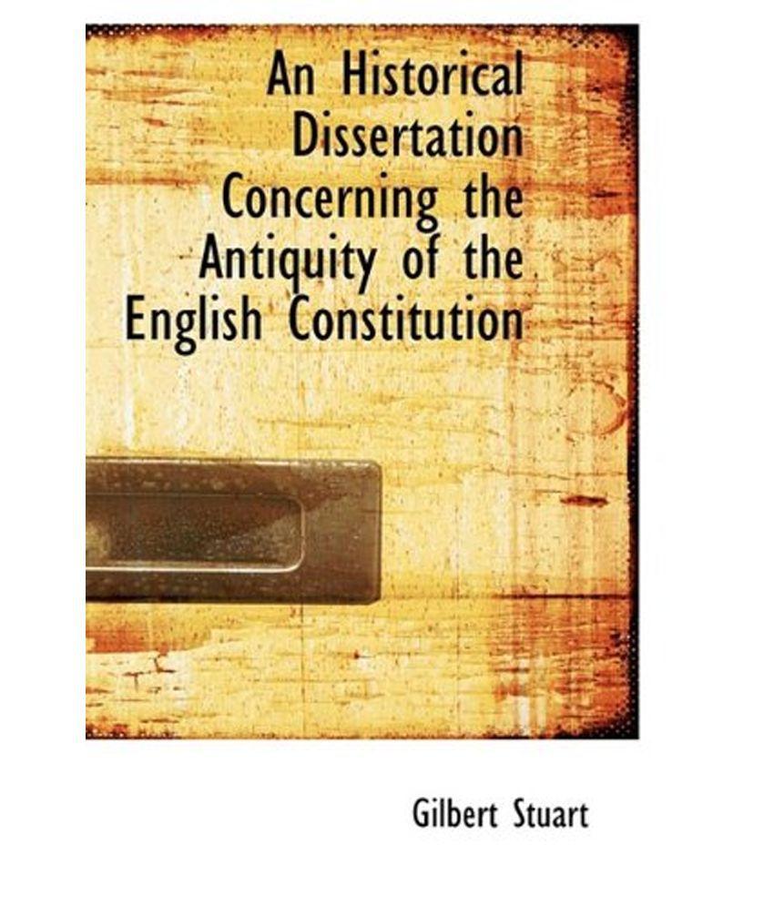 Dissertation on constitution