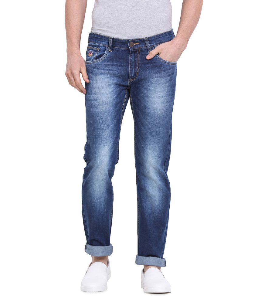 Virtue Blue Slim Fit Jeans