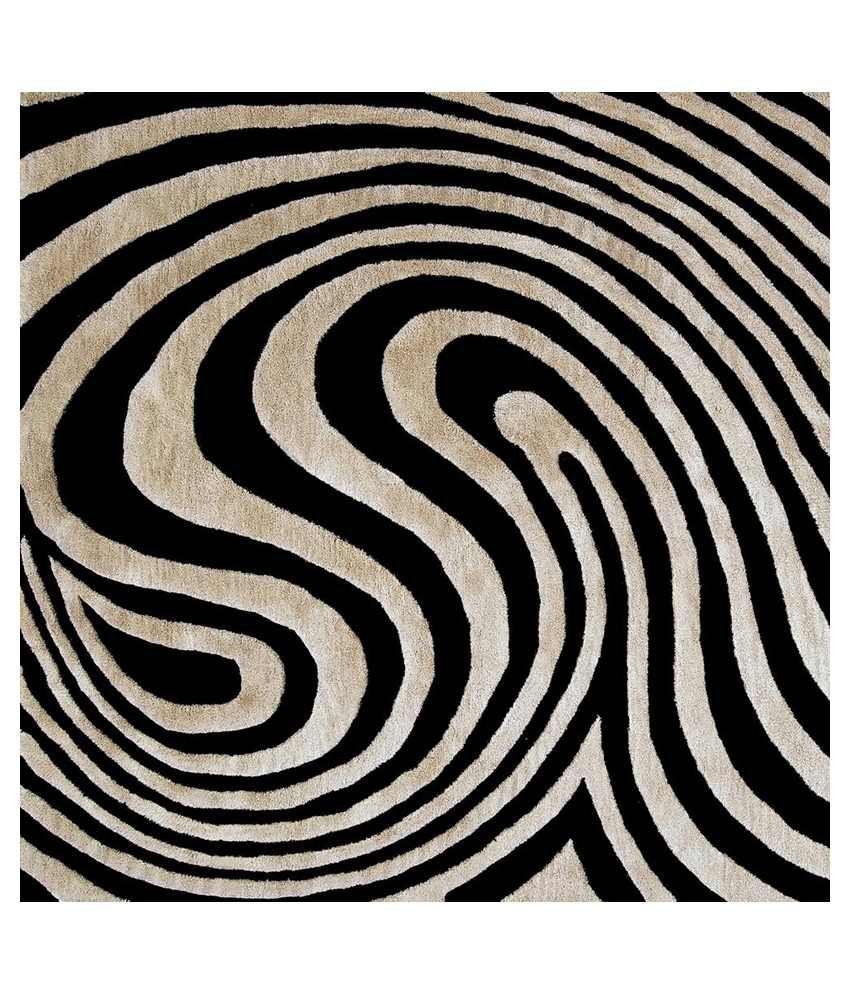 Artzfolio Swirl Canvas Art Print With Frame