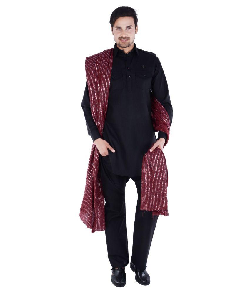 S9 Men Black Pathani Suits No Buy S9 Men Black Pathani