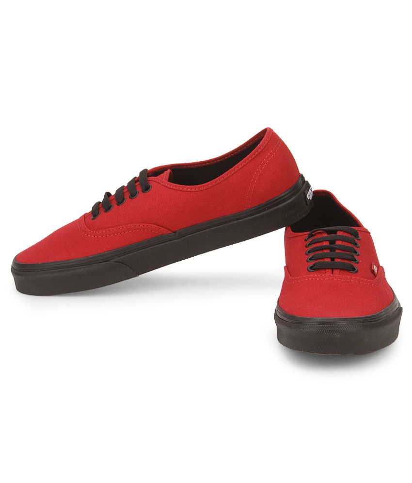 VANS Red Lifestyle Shoes - Buy VANS Red Lifestyle Shoes Online at ... a8109ba92