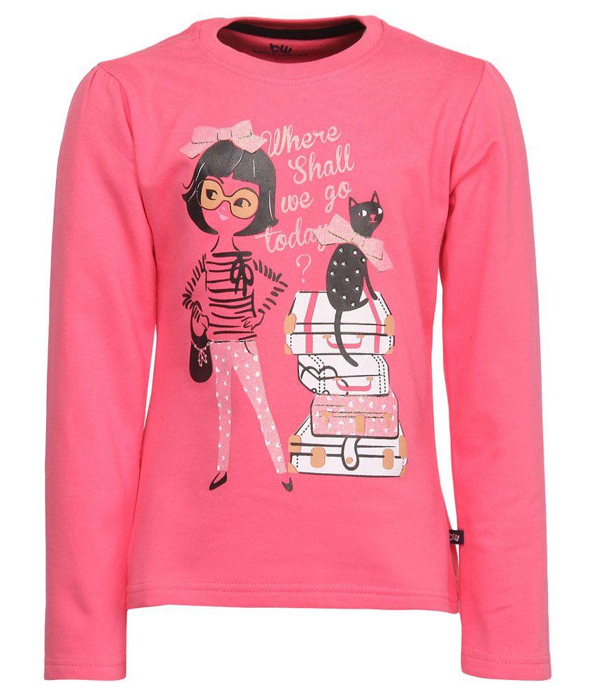 Bells & Whistles Pink Sweatshirt