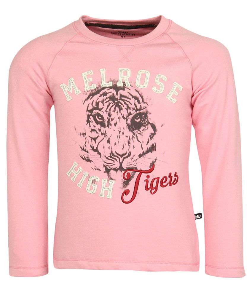 Bells & Whistles Pink Sweatshirt