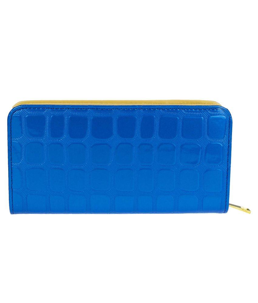 Kaos Blue Formal Wallet