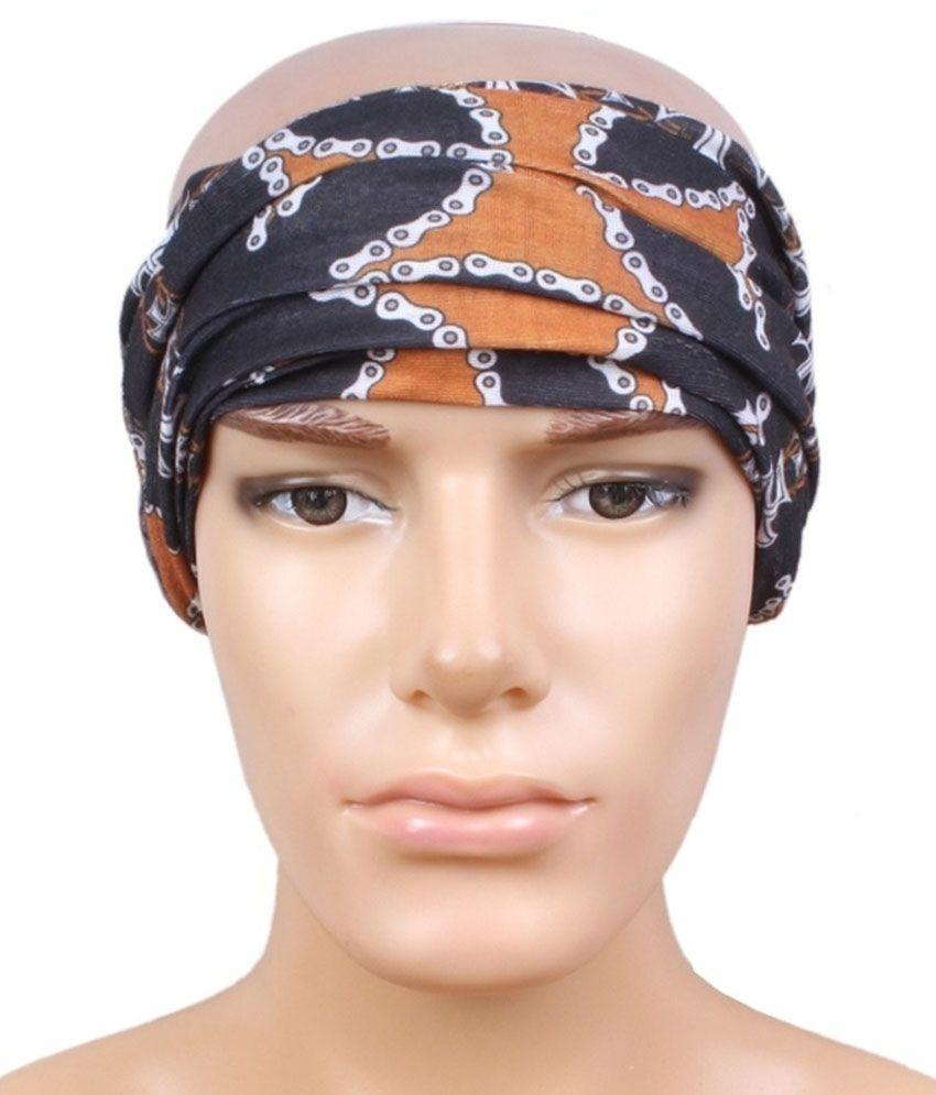 Black Multi Purpose Headwrap