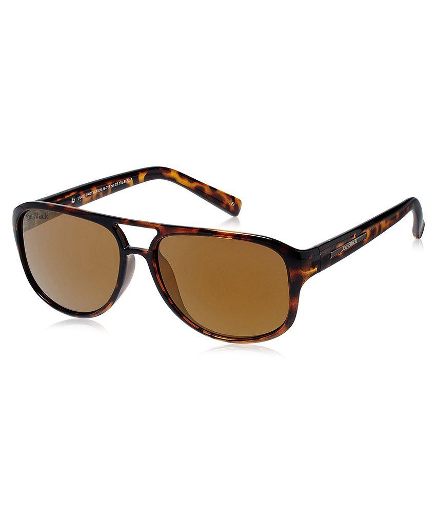 Joe Black - Brown Pilot Sunglasses ( jb-705-c6 )