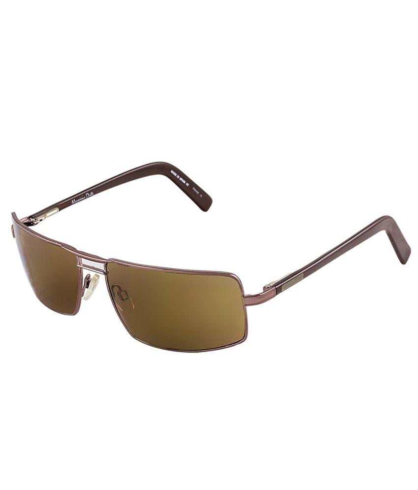 96de92ab08 Massimo Dutti Brown Medium Men Rectangle Sunglasses - Buy Massimo Dutti  Brown Medium Men Rectangle Sunglasses Online at Low Price - Snapdeal