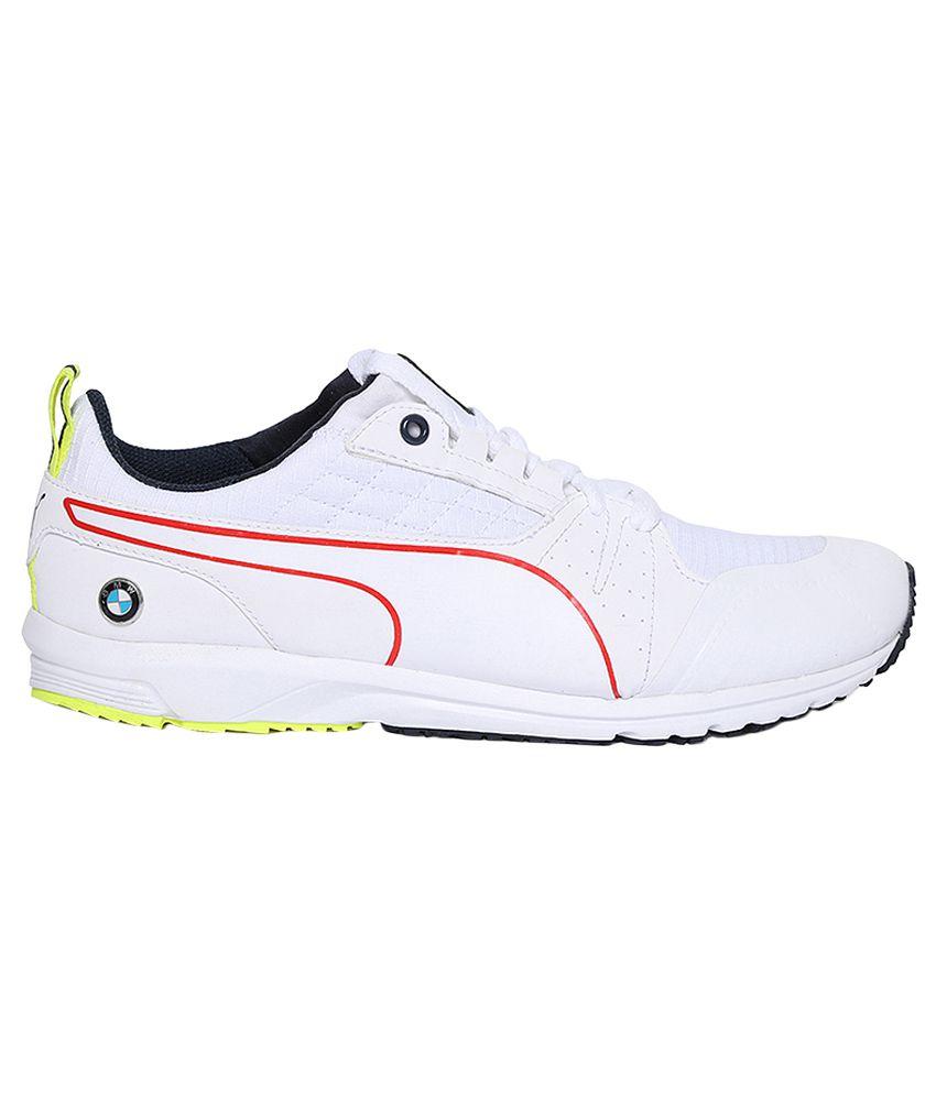 0cc4ff14c8f Puma Bmw Ms Pitlane White Running Sports Shoes - Buy Puma Bmw Ms ...