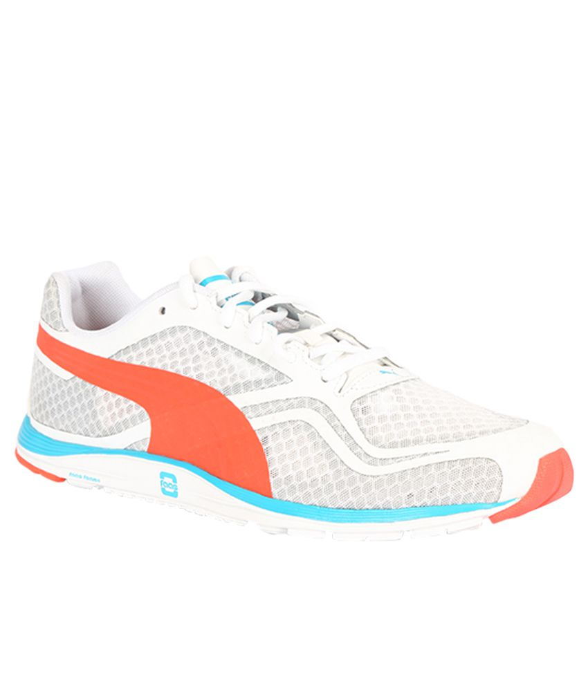 Puma Faas 100 R V1.5 White Running Sports Shoes - Buy Puma Faas 100 R V1.5  White Running Sports Shoes Online at Best Prices in India on Snapdeal 33236fe85