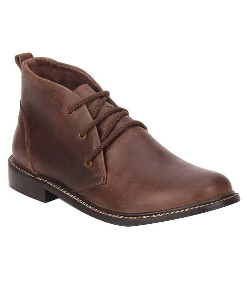 Aditi Wasan Brown Boots