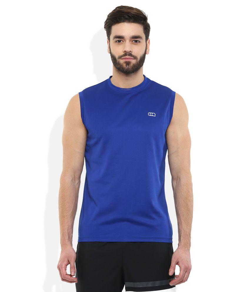 Ajile By Pantaloons Navy Solid T-Shirt