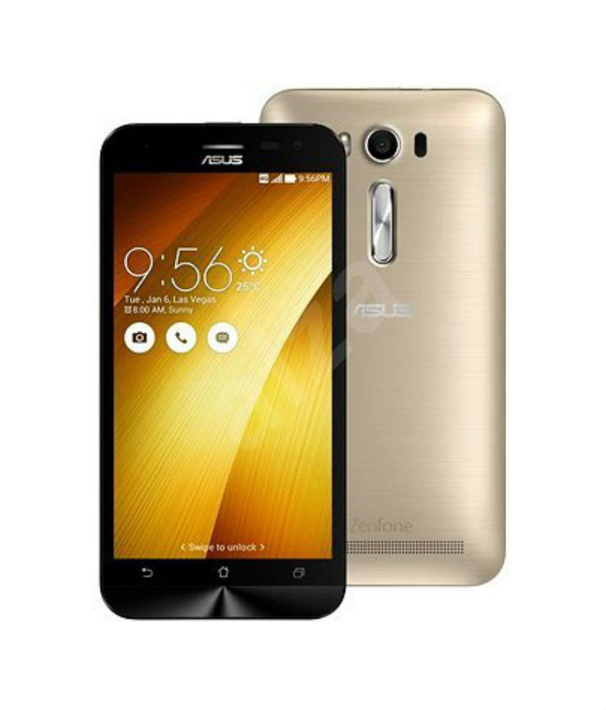 Asus Zenfone 2 Laser ZE500KL (16GB, Gold) Mobile Phones Online at Low Prices ...