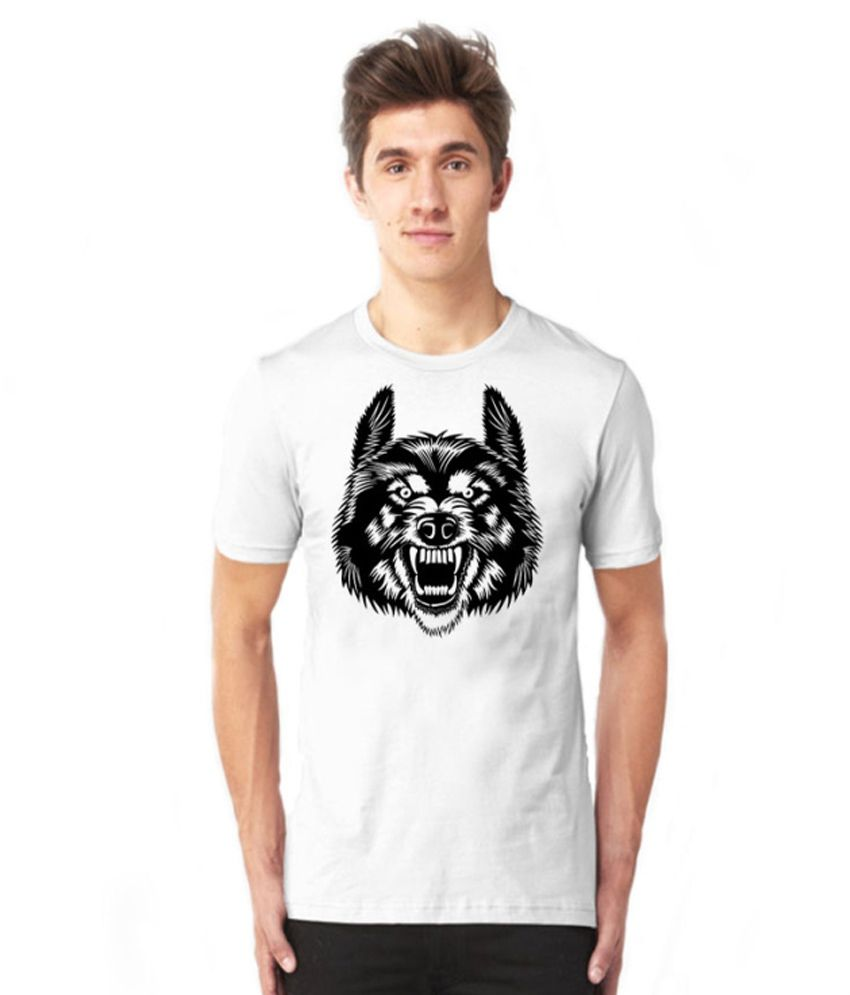 De Rigueur White Cotton Blend T-shirt