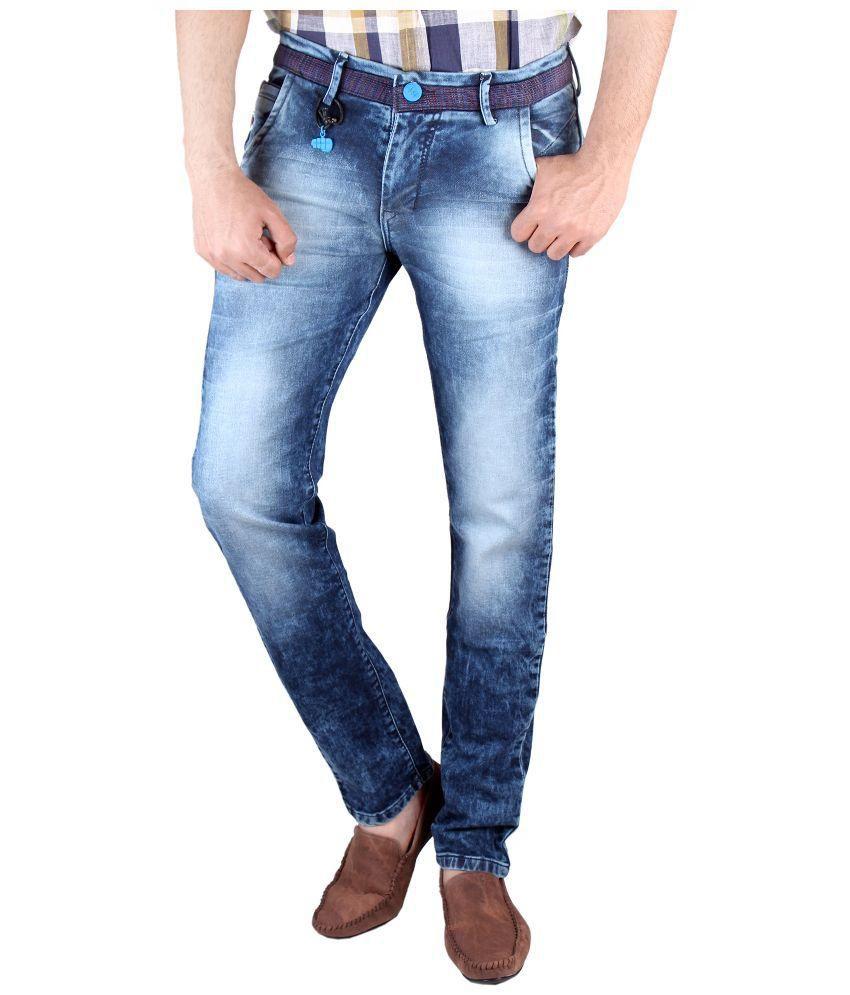 Claim Blue Slim Fit Jeans