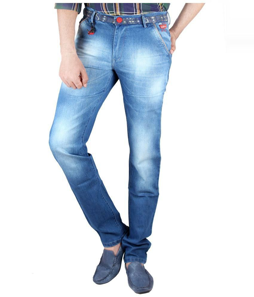 Coco Trend Blue Slim Fit Jeans