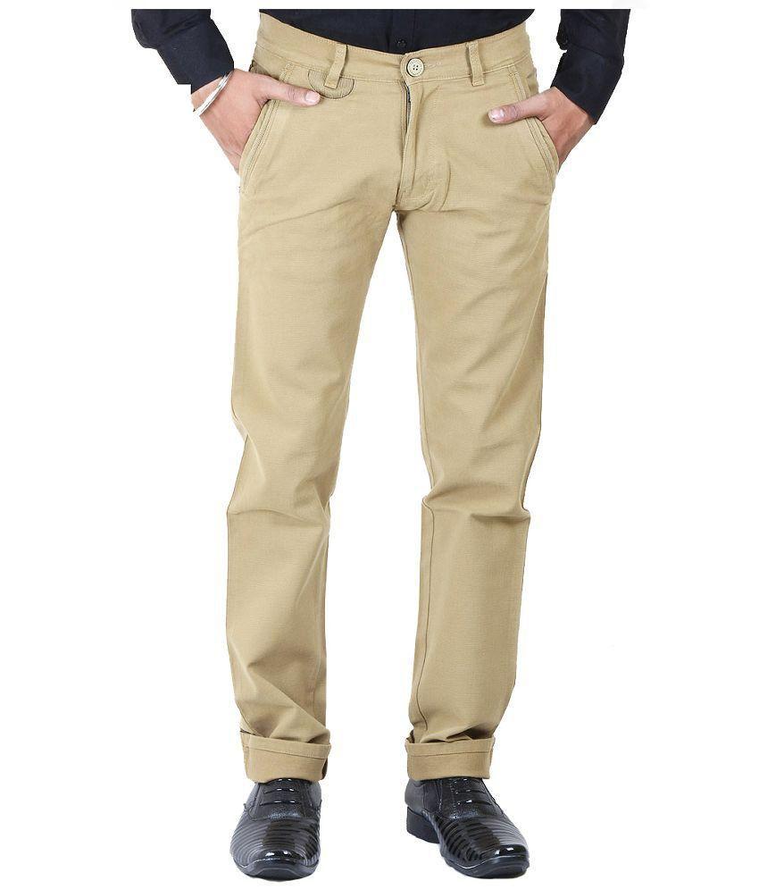 Getabhi Brown regular Fit Jeans