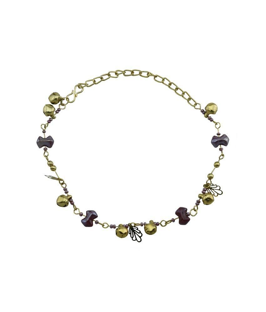 High Trendz Multicolour Alloy Single Anklet