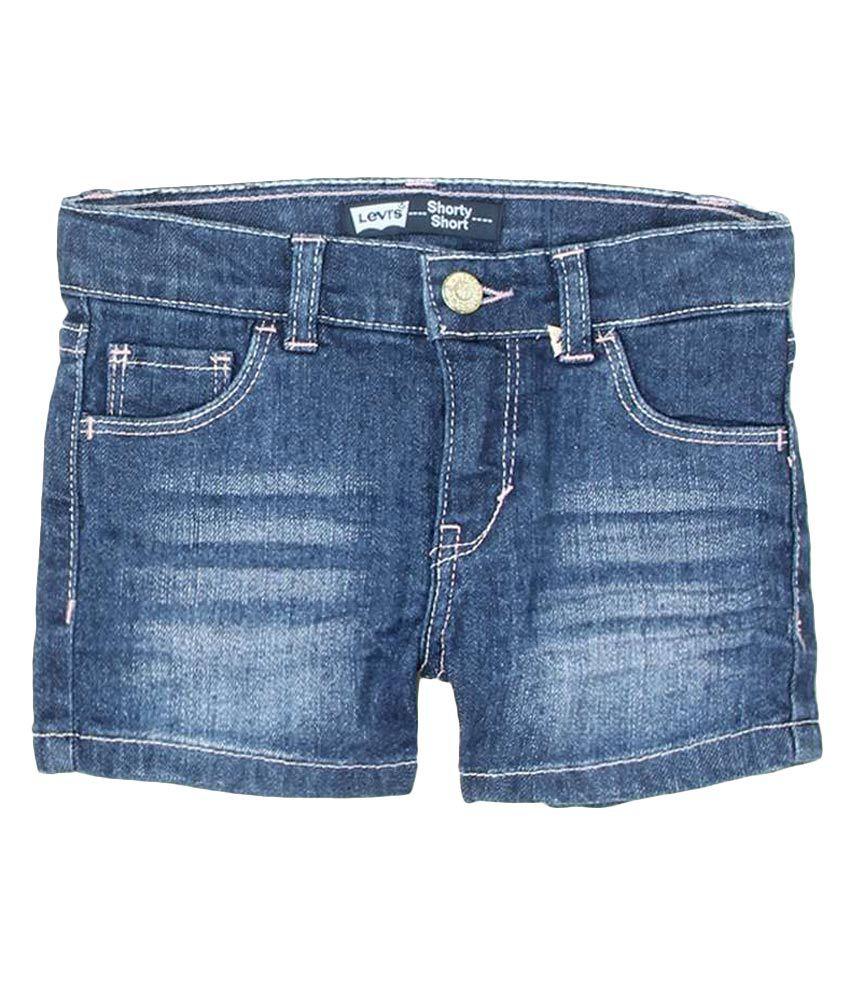 Levi's Kids Blue Shorts