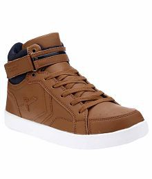 Sparx Brown Lifestyle Shoes