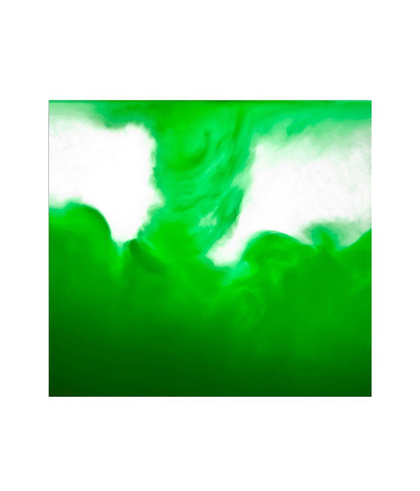 Thefrozenmoment Surrender (green) Art Print