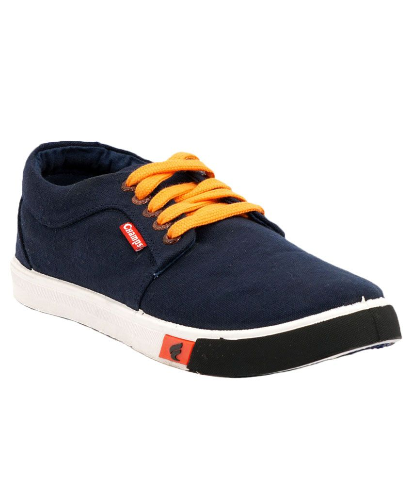 7eff6ff3c65 Champs Navy Canvas Shoes - Buy Champs Navy Canvas Shoes Online at Best  Prices in India on Snapdeal
