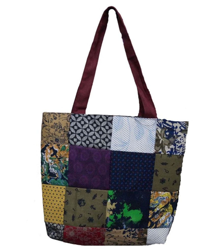 Jbi Multi Canvas Tote Bag