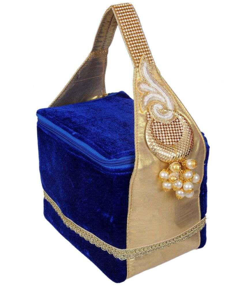 Ratash Vanity Kit-blue & Golden