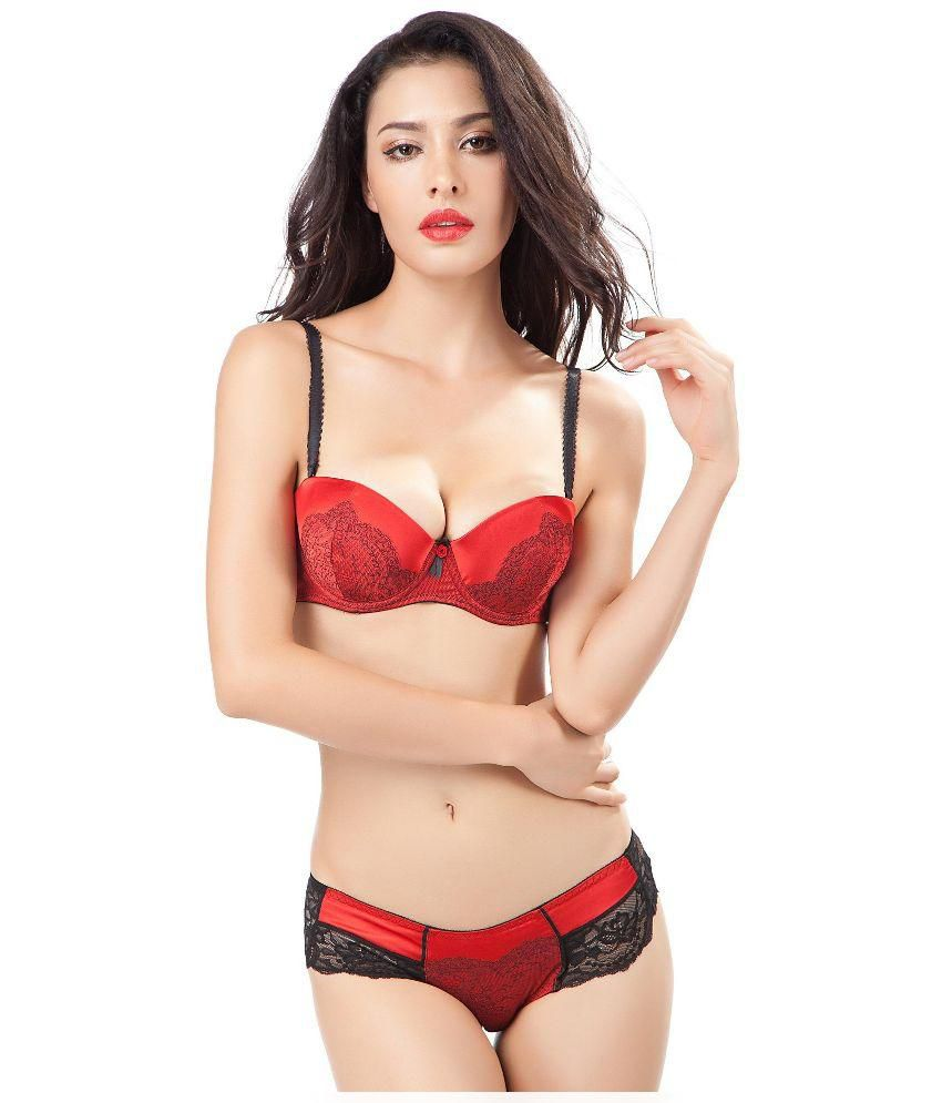 5681cf32814 Buy Lazoya Satin Push Up Bra Online at Best Prices in India - Snapdeal