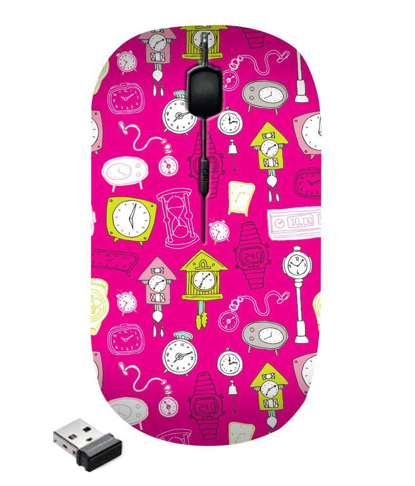 Zapcase Wireless Mouse Multicolor