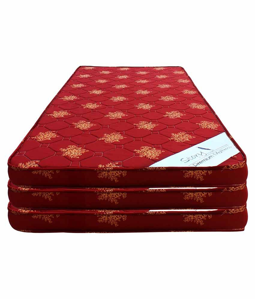 happy life polyester foam mattress set of 3 buy happy life