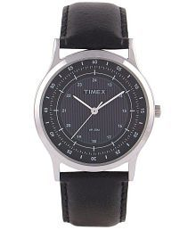 Timex ZR175 Black Analog Formal Watch