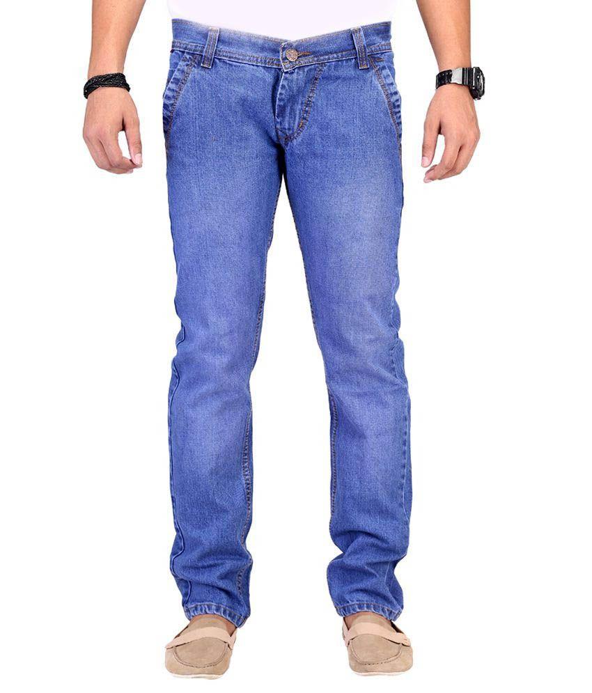 K-san Blue Slim Fit Jeans