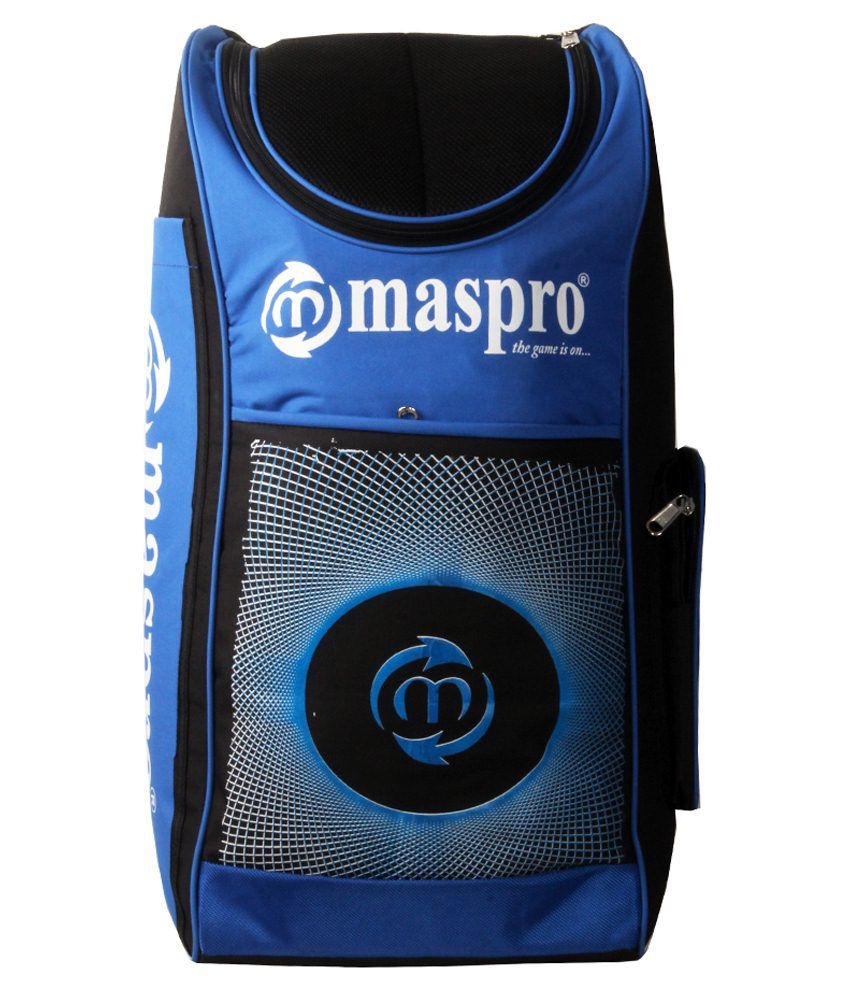 0828515b72a Maspro Cruiser Cricket Kit Bag-blue   Black  Buy Online at Best Price on  Snapdeal