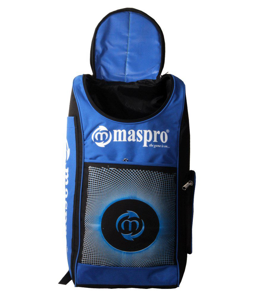 2b9b5fdd631 Maspro Cruiser Cricket Kit Bag-blue   Black  Buy Online at Best ...