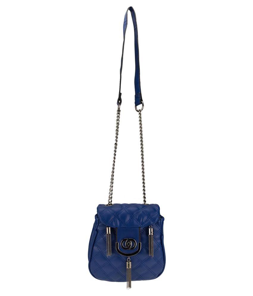 Kaos Blue P.u. Sling Bag
