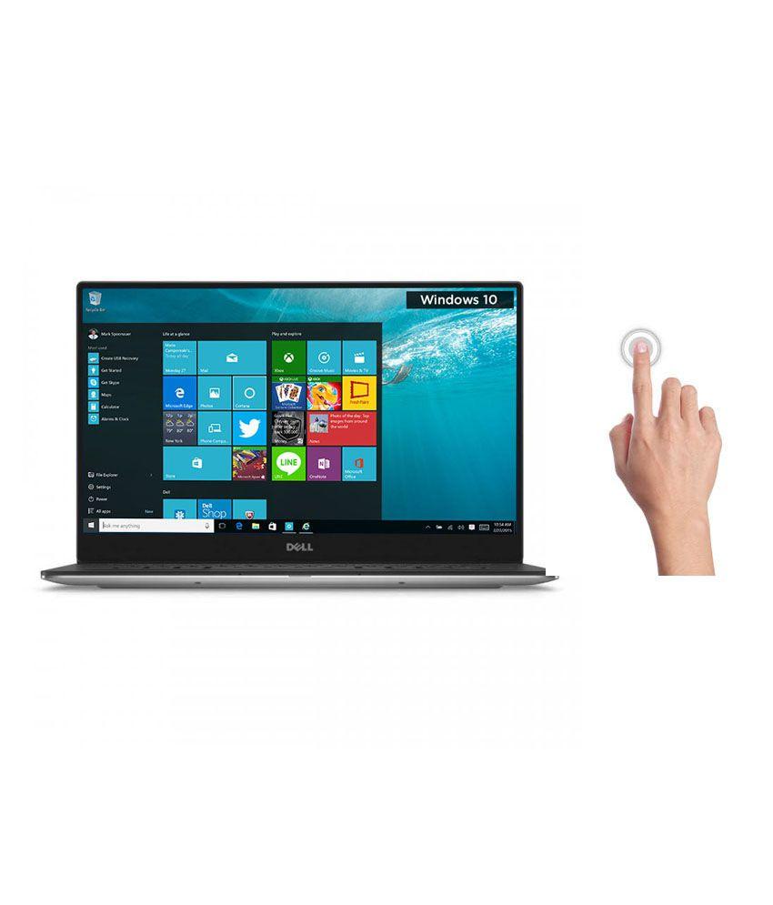 Dell XPS 13 Notebook (Z560033HIN9) (6th Gen Intel Core i7- 8GB RAM- 256GB SSD- 33.78 cm (13.3) Touch- Windows 10) (Silver)